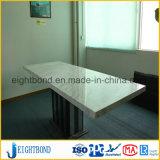 石造りの蜜蜂の巣のパネルの贅沢な家具の性質のTravertineの上の居間のダイニングテーブル