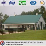プレハブの鋼鉄-高品質の牧場のための組み立てられた倉庫