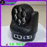 6X15W Zoom Moving Head Mini Bee Eye LED Stage Light
