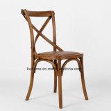 [فكتوري بريس] أثر قديم [إكس] صليب ظهر [وأك ووود] يتعشّى كرسي تثبيت ([رش-4001])