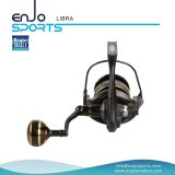 Bobine de pêche en bobine à bobines fixes en aluminium pleine soudure (SFS-LA500)