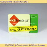 ISO14443A totalmente Impreso MIFARE DESFire EV1 2k tarjeta inteligente de plástico