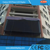 Panneau-réclame polychrome extérieur de l'étalage P5 DEL pour l'installation fixe