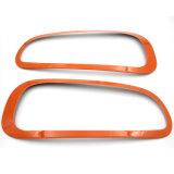 Couverture orange protégée UV matérielle de lampe de Head&Rear de type de couleur ABS de tout neuf pour le membre d'un club F54 (4PCS/Set) de Mini Cooper