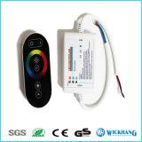 El control del RGB del tacto del RF del amortiguador de 6 claves para el LED elimina 18A