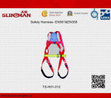 Plein harnais de sûreté du corps Ts-H01-006 (EN361&EN358)