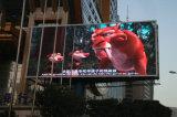 최고 밝은 방수 P10 옥외 발광 다이오드 표시 영상 벽