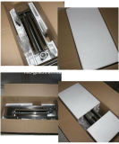 Riempitore manuale dell'acciaio inossidabile del riempitore della salsiccia della strumentazione del ristorante di prezzi bassi