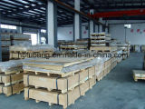 Protective Aluminum Sheet 6061 T6 with Silver Film gold Paper