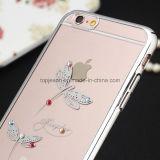 Dragonfly диаманта гальванизируя трудное анти- iPhone 6/6s/6 аргументы за сотового телефона падения плюс