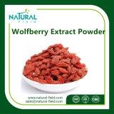 Polisacáridos del suplemento de la salud el 40%, polvo del extracto del 50% Wolfberry