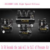компрессор воздуха компрессора свободно воздуха масла 110L 3X1400W малошумный молчком