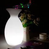 Bluetooth를 가진 소형 휴대용 Bluetooth 스피커 LED 가벼운 스피커