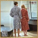 Peignoir de couples de vente en gros de jacquard de prix usine D16