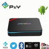 2016 de qualité de Pendoo X8 PRO+ de l'androïde 6.0 d'Amlogic S905X TV plein HD Media Player boîtier décodeur de réseau de joueur de réseau du cadre