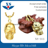 نمط [18ك] نوع ذهب يصفّى جمجمة مدلّاة مجوهرات