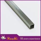 Profils en aluminium d'extrusion de tuile de forme d'U pour la décoration de coin de mur