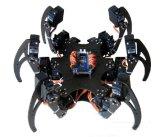 Алюминиевый Hexapod спайдер 6 набор + струбцина рамки робота 3 ног Dof установленная полно - совместимой с Arduino