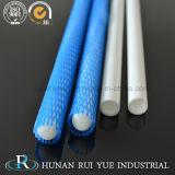 Tubo elettrico di ceramica dell'isolamento dell'allumina industriale di 99%