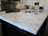 Modern Prefab Home Kitchen Quartz Countertops Fabricante