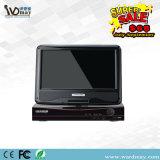 Niedriger Preis H. 264 Ahd 8chs DVR mit 10.1 Zoll LCD-Bildschirm vom CCTV-Hersteller