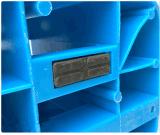 нагрузки вешалки бегунков решетки 3 паллета HDPE 1100*1100*170mm поднос пластичной сверхмощной пластичный для продуктов пакгауза