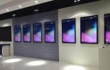 vídeo del panel de visualización de 32-Inch LCD que hace publicidad del jugador, señalización de Digitaces