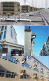 Neues pp.-Plastikdach eingehangener Fabrik-Werkstatt-industrieller Verdampfungsluftkühlung-axialer Ventilator vom Hersteller