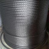 веревочка провода нержавеющей стали 6*19s+NF 8*19s+NF на лифт 8mm 10mm 12mm