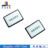 Kundenspezifische Marken des Gas-Becken-Silk Bildschirm-aufsaugende Wellen-Kennsatz-RFID