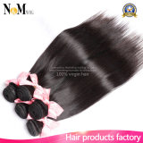 Del vertimiento y del enredo extensiones malasias rectas sedosas del pelo libremente (QB-MVRH-ST)