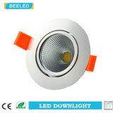 Spiegel3w Dimmable LED Downlight vertiefte reine weiße Projekt-Werbung