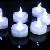 Velas Flameless brancas do diodo emissor de luz do baixo preço do OEM