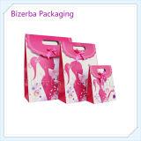 Bolsa de papel colorida de la joyería de la alta calidad