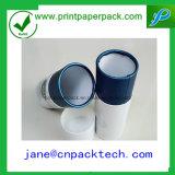 Rectángulo de papel de empaquetado del vino redondo de lujo de encargo del té