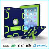 Caixa de borracha pesada Shockproof híbrida do carrinho para a aba da galáxia de Samsung do iPad de Apple
