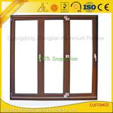 Fenster-und Tür-Aluminiumstrangpresßling-Profil mit kundenspezifischen Oberflächenfarben