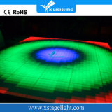 O disco quente DJ das vendas que ilumina o diodo emissor de luz de Digitas pavimenta