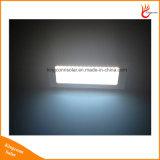 Lumière extérieure de mur de lampe du détecteur de mouvement de radar 48LEDs 1000lm de maison solaire en aluminium de jardin