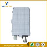 4개의 섬유 플라스틱 상자 PLC 쪼개는 도구 Sc/APC를 가진 옥외 섬유 종료 상자