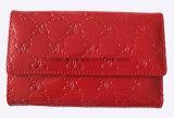 Flaches glänzendes Patent PU-Leder-prägenmuster-Frauen-Mappe