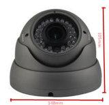Nueva cámara de 4.0MP IR bóveda del metal del CCTV de seguridad IP