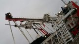 Plataforma de perforación de la paliza de múltiples funciones del campo petrolífero con la construcción de los alcantarillados
