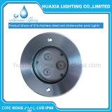 DC24V 9watt IP68 Leistungs-LED vertieftes Unterwasserlicht