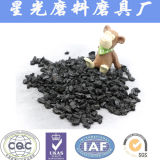 Carbón activo de los Cocos para la decoloración del agua potable