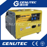 Luft abgekühlter leiser Dieselgenerator 5kw mit Digitalsteuerungs-Panel