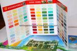 El color de pintura Lona color Sistema