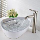Robinet de salle de bain en céramique en fonte de robinet de lavabo