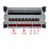 электропитание постоянн раковины Rainproof СИД напряжения тока 5V-350W алюминиевой