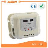 Suoer 24V 15A hohe Leistungsfähigkeits-beweglicher Solarladung-Controller (ST-G2415)